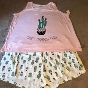 NWT Cactus pajamas